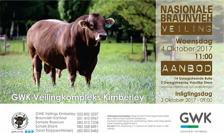 Braunvieh National Sale 2017
