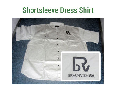 Ladies Shortsleeve Dress Shirts - Available khaki