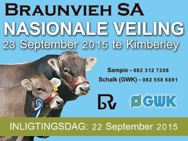 National Braunvieh SA Auction 2015