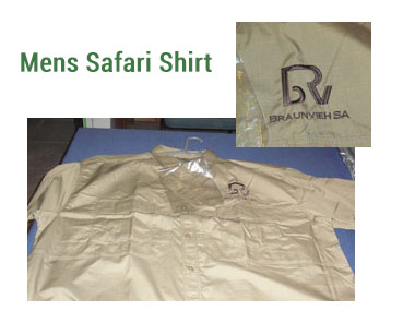 Mens Safari Shirt -
